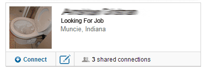 Looking For Job Bad LinkedIn Profile