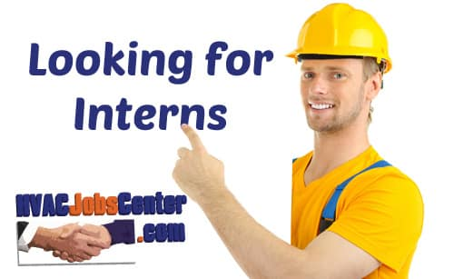 Internships in HVAC, Refrigeration, Plumbing and Mechanical Engineering