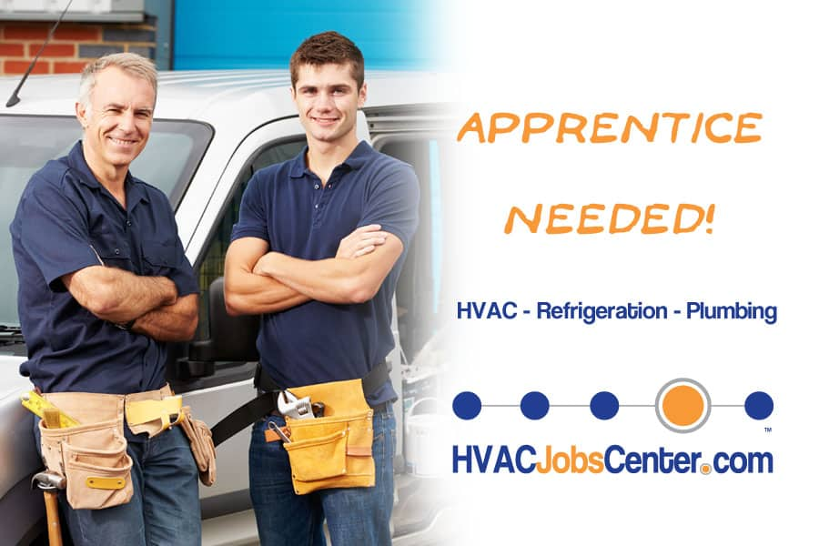 Free HVAC, Refrigeration and Plumbing Apprenticeship